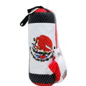 "20 Units of 20"" BOXING BAG (MEXICO) W/ 9"" GLOVES IN PEGABLE NET BAG - Sports Toys"