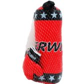 "10 Units of 20"" BOXING BAG (RED&BLK) W/ 9"" GLOVES IN PEGABLE NET BAG - Sports Toys"