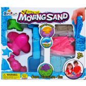 24 Units of 7 PIECE MOVING SAND WITH ACCESORIES IN WINDOW BOX - Novelty Toys