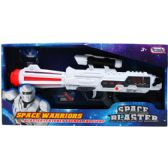 """24 Units of 14.5"""" B/O SPACE TOY GUN WITH SOUND & LIGHT IN OPEN BOX - Toy Weapons"""