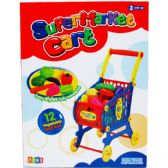 8 Units of SHOPPING CART WITH ACCESSORIES IN COLOR BOX - Light Up Toys