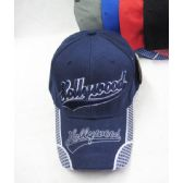 "36 Units of ""Hollywood"" Base Ball Cap - Baseball Caps & Snap Backs"