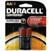 48 Units of DURACELL AA-2 DURALOCK
