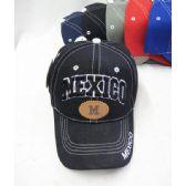 """36 Units of """"Mexico"""" Base Ball Cap - Baseball Caps & Snap Backs"""