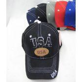 """36 Units of """"USA"""" Base Ball Cap - Baseball Caps & Snap Backs"""