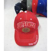 "36 Units of ""San Francisco"" Base Ball Cap - Baseball Caps & Snap Backs"