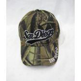 "36 Units of ""San Diego"" Camo Caps - Baseball Caps & Snap Backs"