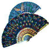 """36 Units of Chinese silk fan 10"""""""
