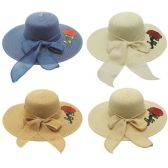 48 Units of Lady's summer hat - Sun Hats