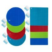 48 Units of Assorted Silicone Trivet - Coasters & Trivets