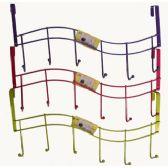 60 Units of Over The Door Hook Rack(3) - Hooks/Hook Racks