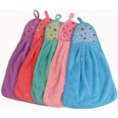 100 Units of Hand Towel With Hanging Loop