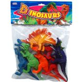 24 Units of 6 Piece Toy Dinosaur Play Set