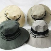 24 Units of Mens Bucket Hat in Assorted Colors - Bucket Hats