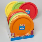 72 Units of Plate Plastic 2pk 10in - Party Paper Goods
