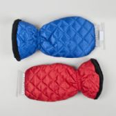 18 Units of Ice Scraper W/quilted Lined Mitt