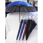 36 Units of Solid Color 2 Layer UV Lined Umbrella