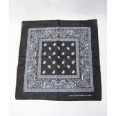 60 Units of Black Paisley Bandanna - Bandanas