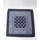 72 Units of Navy Blue Paisley Bandana - Bandanas