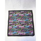"72 Units of ""Love & Dream""Printed Bandana - Umbrella"