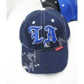 "36 Units of Kid's ""Los Angeles"" Base Ball Cap - Kids Baseball Caps"