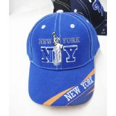 "36 Units of Kid's ""New York"" Base Ball Cap - Kids Baseball Caps"