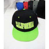 "36 Units of Kid's ""California"" Snap Back Cap - Kids Baseball Caps"