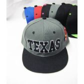 36 Units of Kid's ''Texas'' Snap Back Cap - Kids Baseball Caps