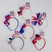 96 Units of Headband Patriotic - 4th Of July