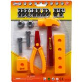 48 Units of 8 Piece Build It Tools Play Set