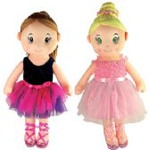 6 Units of SOFT BALLERINA DOLLS. - Dolls