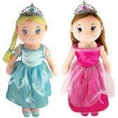 12 Units of SOFT PRINCESS DOLLS - Dolls