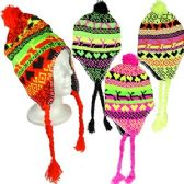72 Units of KNIT ARCTIC CHULLO HATS