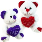 36 Units of PLUSH LOVE BEARS W/ EMBROIDERED HEART.