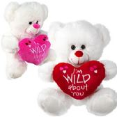 """30 Units of PLUSH """"I'M WILD ABOUT YOU"""" BEARS"""