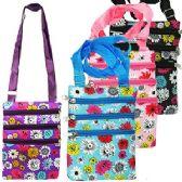 96 Units of MEDIUM SUNFLOWER MESSENGER BAGS - Shoulder Bags & Messenger Bags