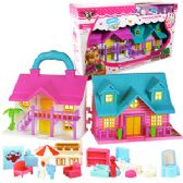 18 Units of 18 PIECE LOVING FAMILY TRAVEL DOLL HOUSES - Dolls