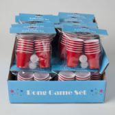 96 Units of Mini Party Beer Pong Set - SUMMER TOYS