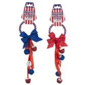 72 Units of Patriotic Door Hanger - 4th Of July