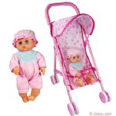 24 Units of METAL DOLL STROLLERS W/ DOLL. - Dolls