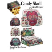 48 Units of CANDY SKULL COIN PURSES