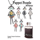 36 Units of ASSORTED PUPPET NECKLACE - Necklace