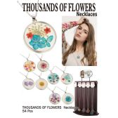 54 Units of THOUSANDS OF FLOWERS NECKLACES - Necklace