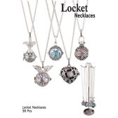 36 Units of LOCKET NECKLACES - Necklace