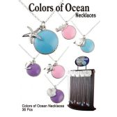 36 Units of COLORS OF OCEAN NECKLACES - Necklace