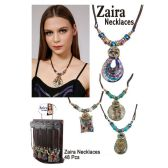 48 Units of ZAIRA ASSORTED NECKLACES - Necklace