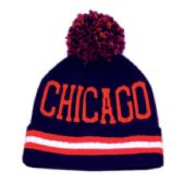 24 Units of POMPOLM BEANIE HATS/CHICAGO