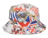 18 Units of MULTI FLAG REVERSIBLE BUCKET HATS - Bucket Hats