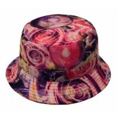 24 Units of HARRICANE PRINT BUCKET HATS - Bucket Hats
