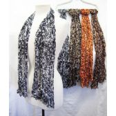 36 Units of Cheetah Printed Scarves - Womens Fashion Scarves